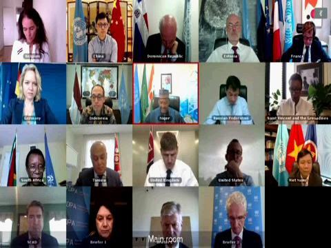 UN  PEACE AND SECURITY COVID-19