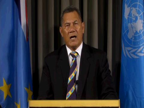 UN  UN75 TUVALU