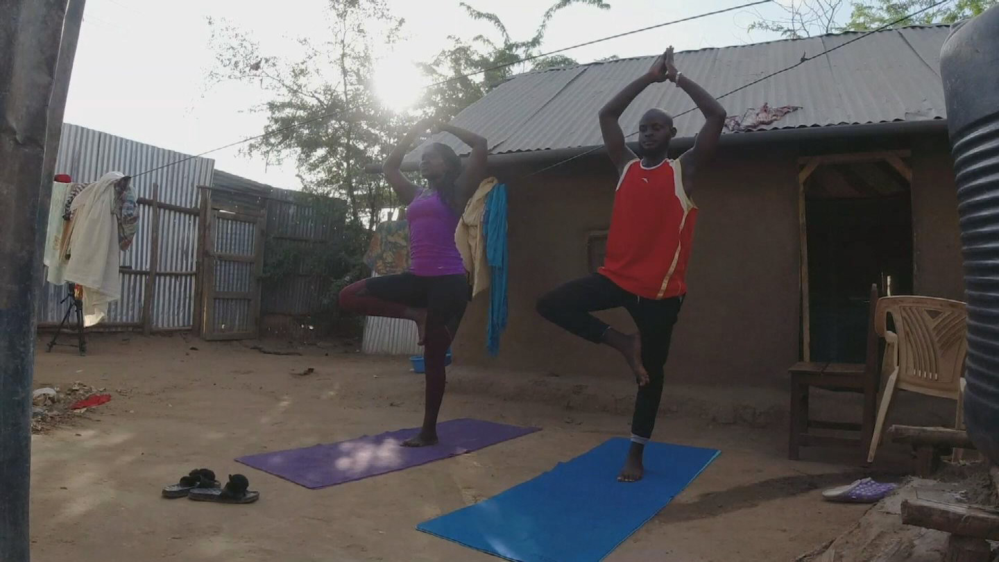 KENYA  REFUGEE YOGI MENTAL WELLNESS