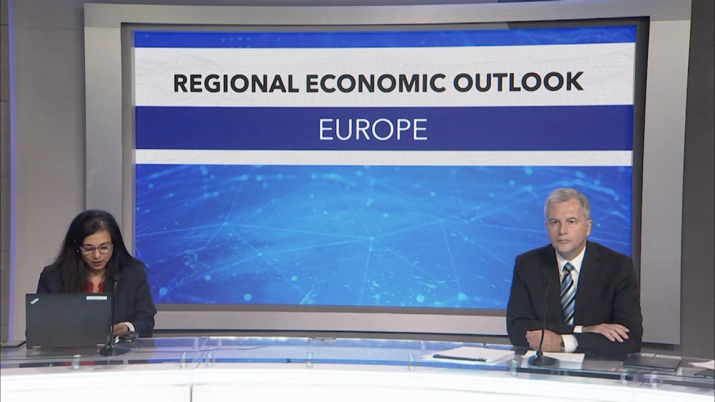 IMF  EUROPEAN REGIONAL ECONOMIC OUTLOOK PRESSER
