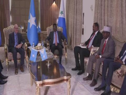 SOMALIA  SWAN DHUSAMAREB VISIT