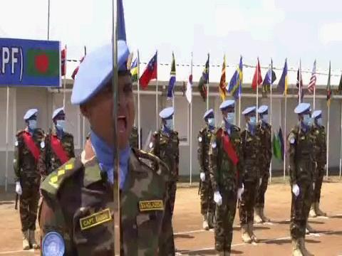 SOUTH SUDAN  BANGLADESH PEACEKEEPERS