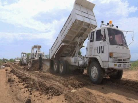 SOUTH SUDAN  ROADS REPAIR