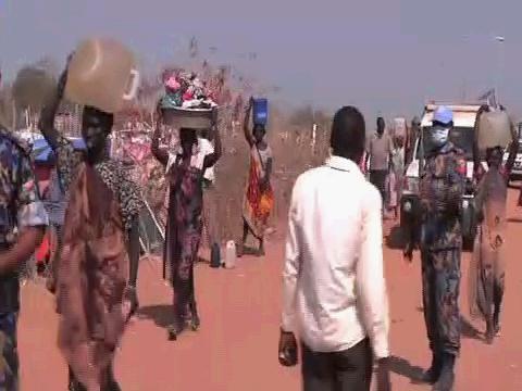 SOUTH SUDAN  POC SITES DISPLACED POPULATION