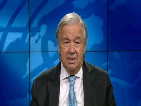 UN  GUTERRES CLIMATE EUROPEAN COUNCIL