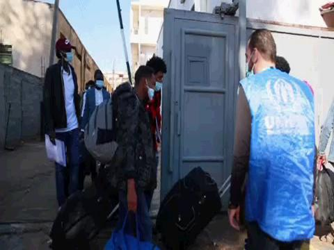 LIBYA  ASYLUM SEEKERS EVACUATION