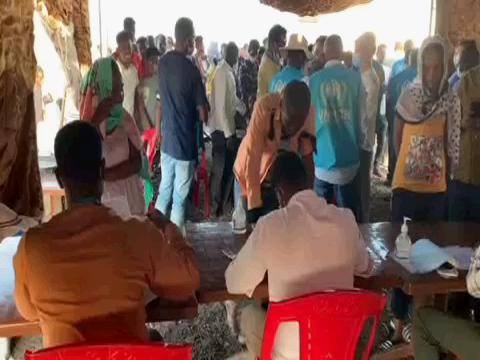 SUDAN  ETHIOPIA REFUGEES