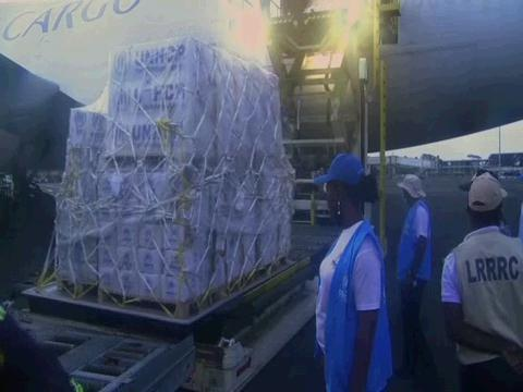 LIBERIA  AIRLIFT EMERGENCY AID