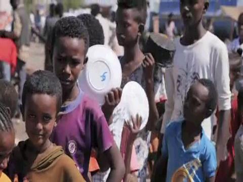 SUDAN  ETHIOPIAN REFUGEES