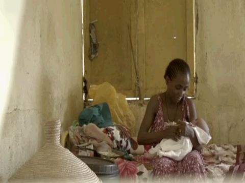 SUDAN  ETHIOPIA NEWBORN REFUGEE