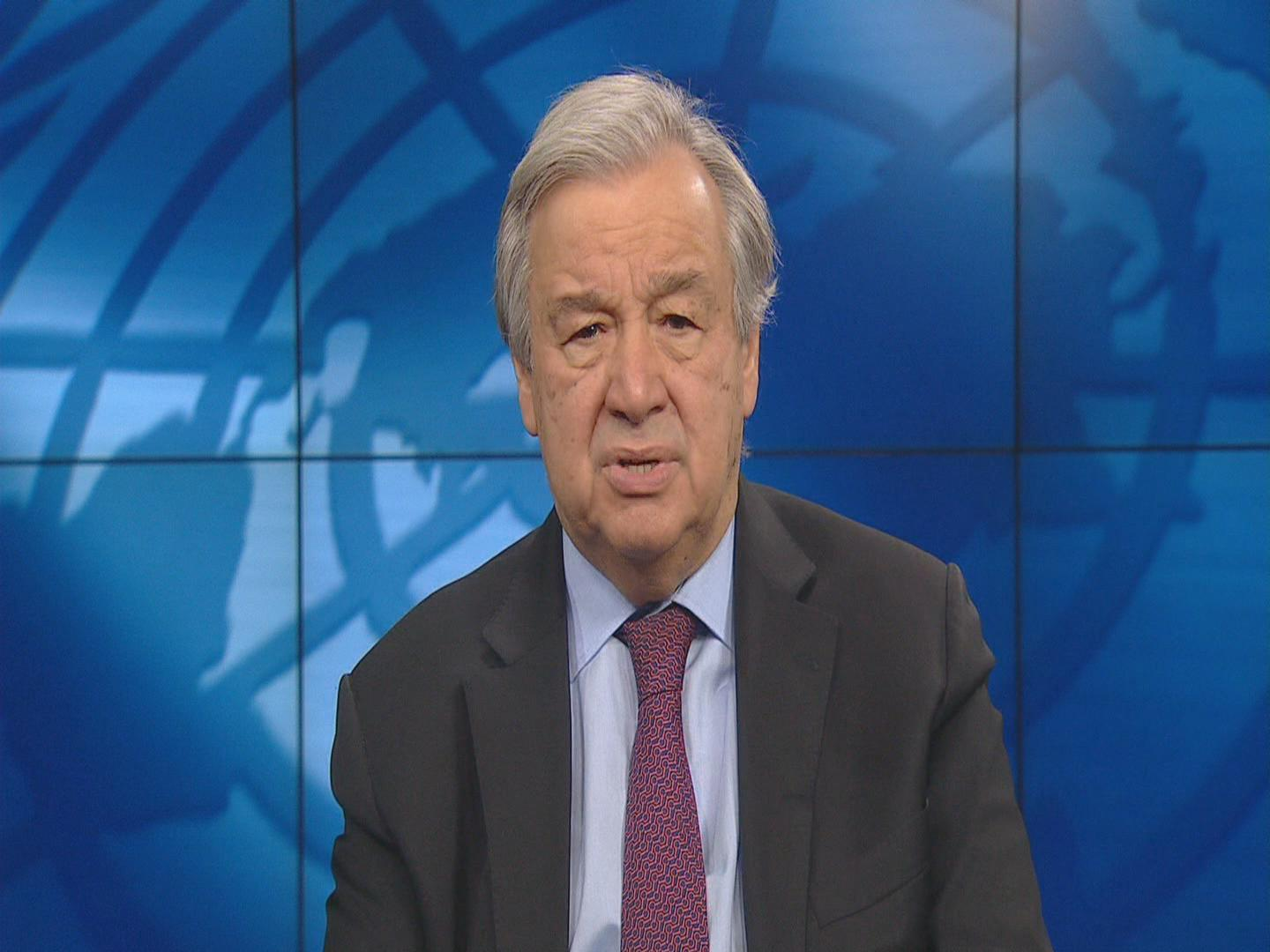 UN  GUTERRES NUCLEAR WEAPONS TREATY
