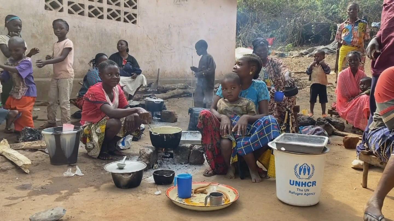 DRC  CAR DISPLACED POPULATION