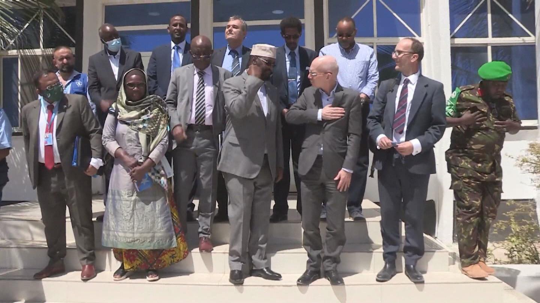 SOMALIA  KISMAYO UN DELEGATION