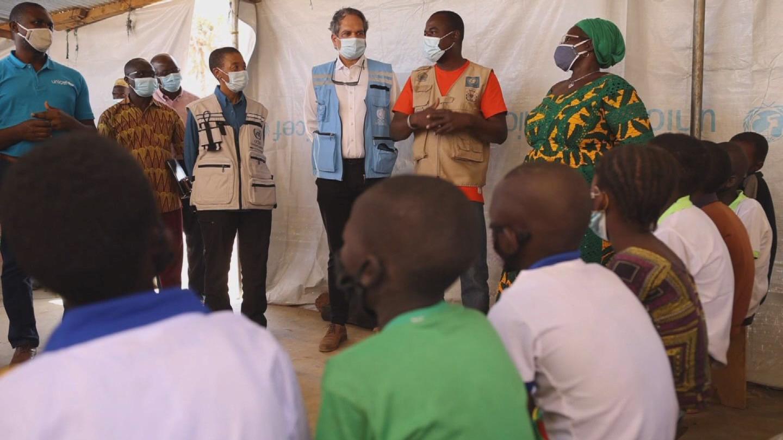 BURKINA FASO  RAJASINGHAM REFUGEES