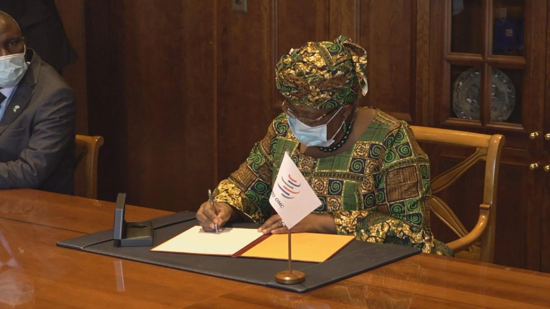 WTO  OKONJO-IWEALA TAKES OFFICE