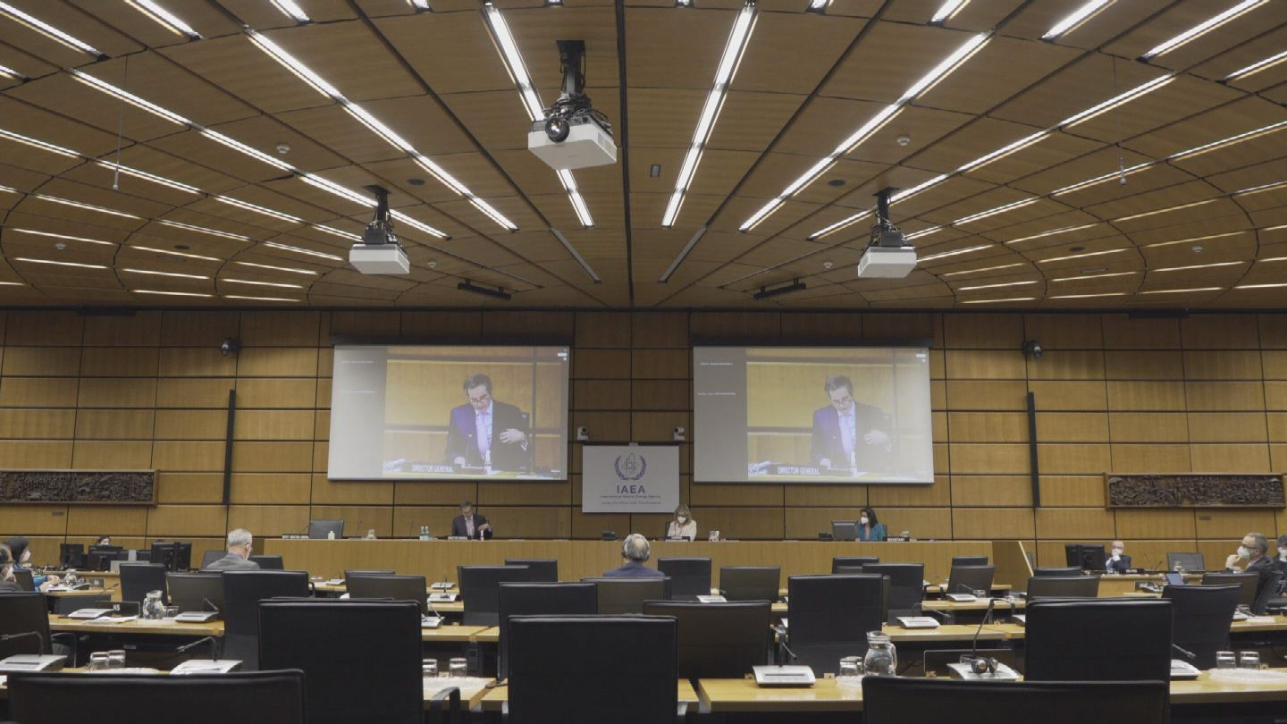 IAEA  GROSSI BOARD OF GOVERNORS