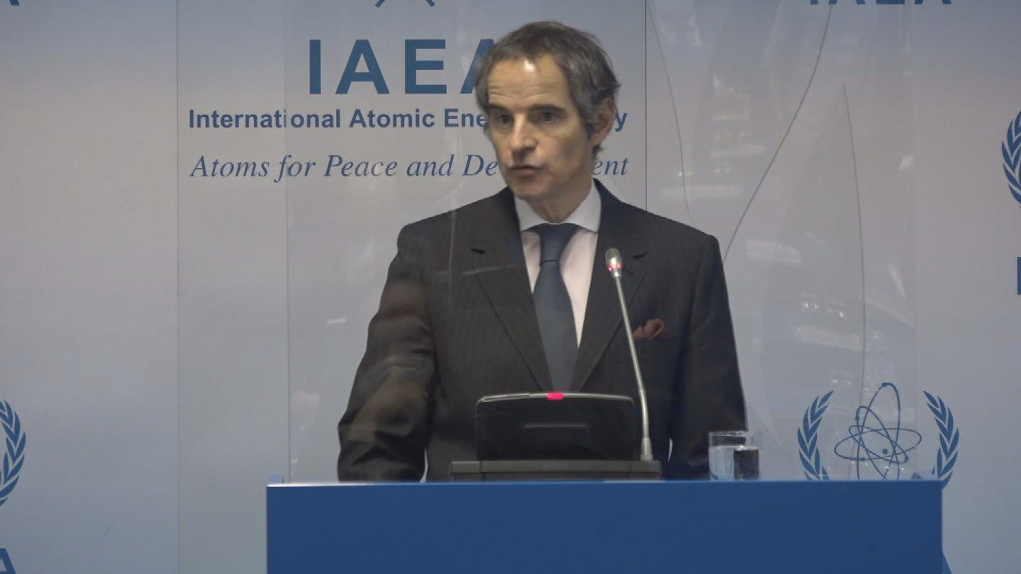 IAEA  GROSSI PRESS CONFERENCE