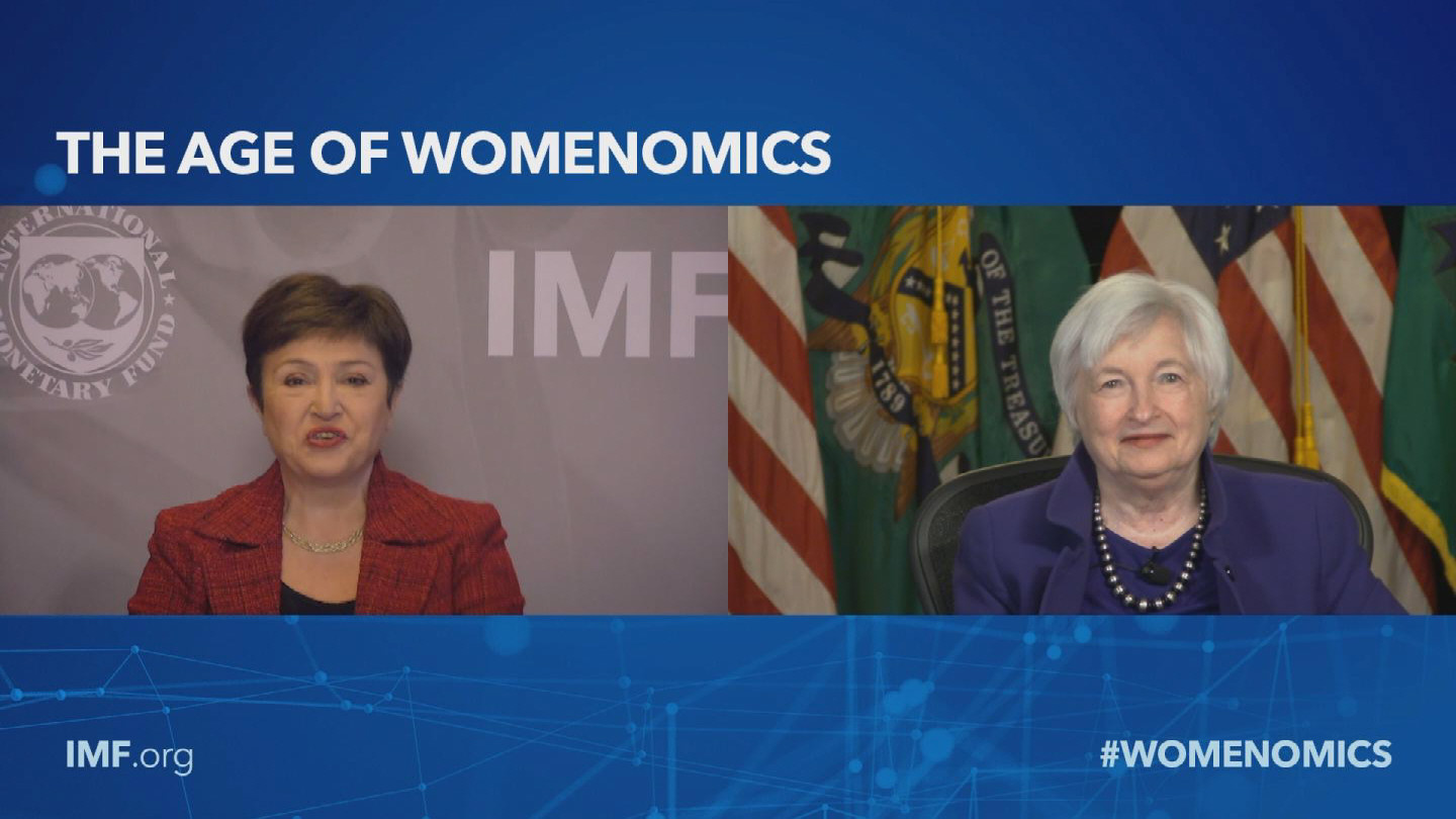 IMF  WOMENOMICS YELLEN COVID-19