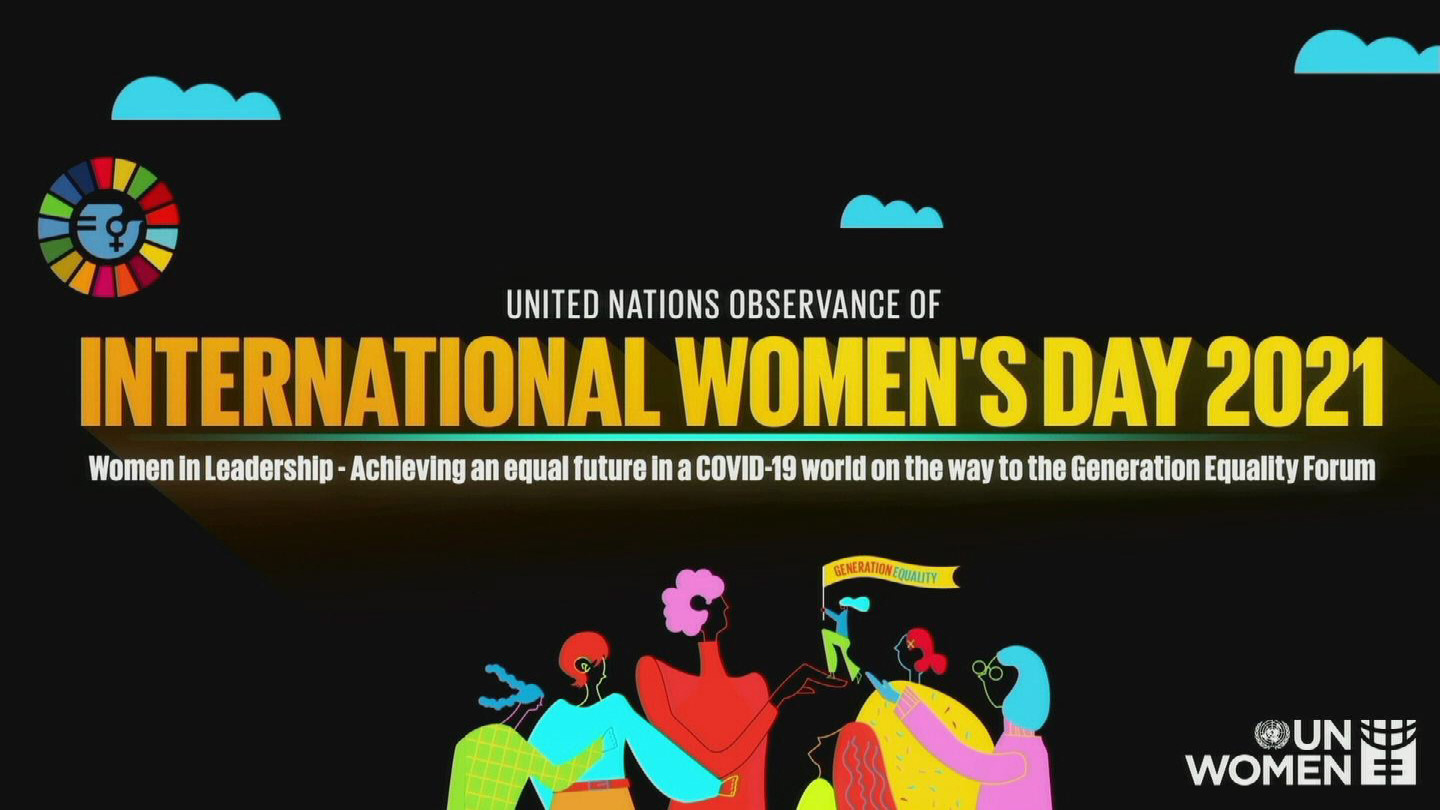 UN  INTERNATIONAL WOMEN'S DAY