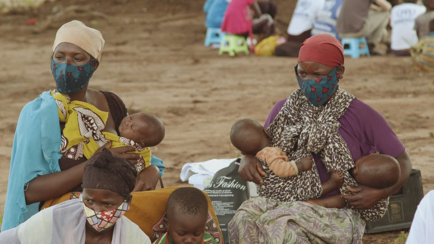 MOZAMBIQUE  INTERNALLY DISPLACED PERSONS