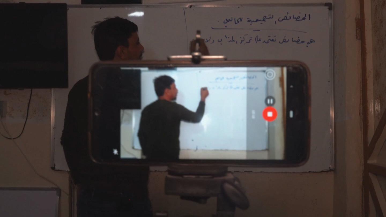 IRAQ  REFUGEE TEACHER
