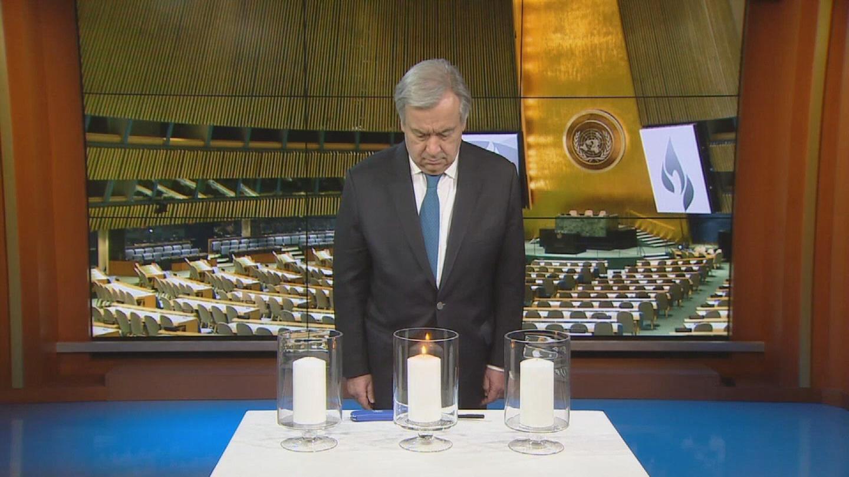 UN / RWANDAN GENOCIDE ANNIVERSARY