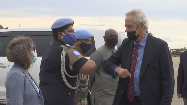 SOUTH SUDAN  NEW SPECIAL ENVOY ARRIVAL