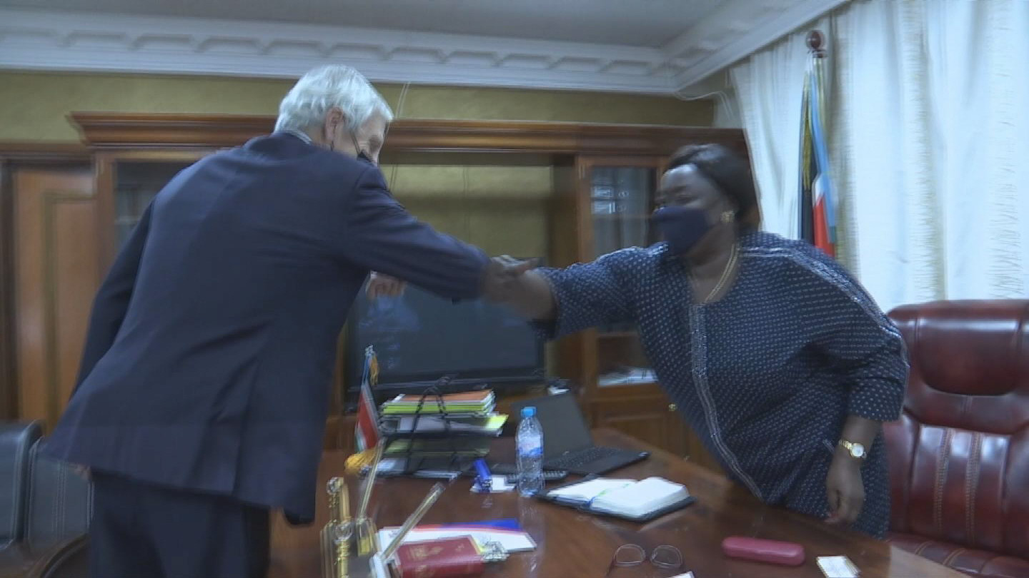 SOUTH SUDAN / HAYSOM VISIT FOREIGN MINISTER