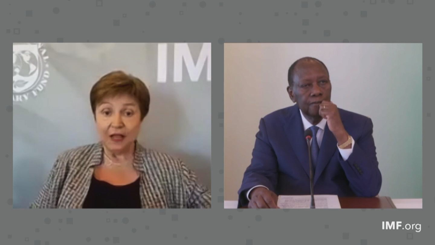 IMF  AFRICAN DEPARTMENT GEORGIEVA OUATTARA