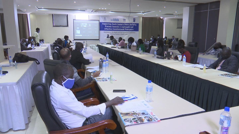 SOUTH SUDAN  MEDIA WORKSHOP