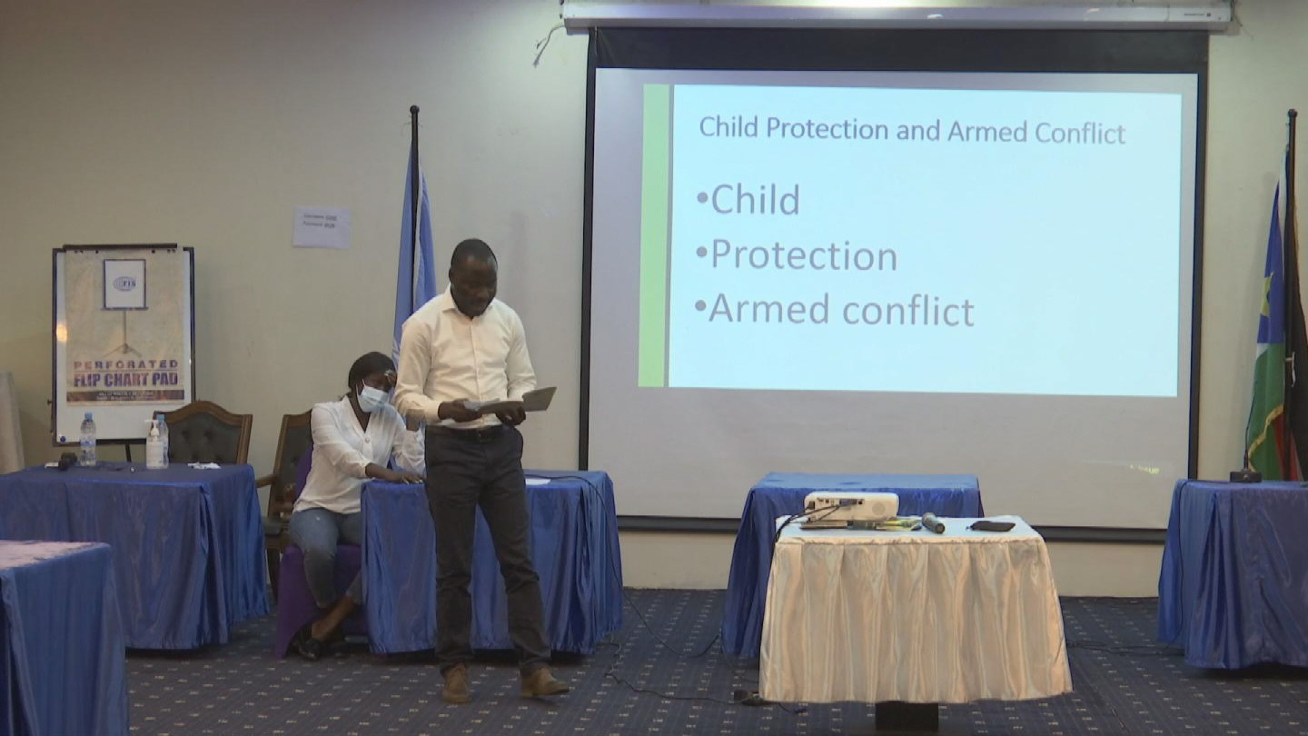 SOUTH SUDAN  CHILD PROTECTION CAPACITY BUILDING