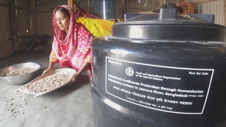 BANGLADESH  NATURAL DISASTERS MITIGATION
