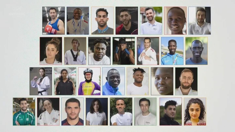UNHCR  TOKYO 2020 OLYMPIC REFUGEE TEAM