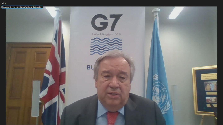 G7  GUTERRES PRESSER
