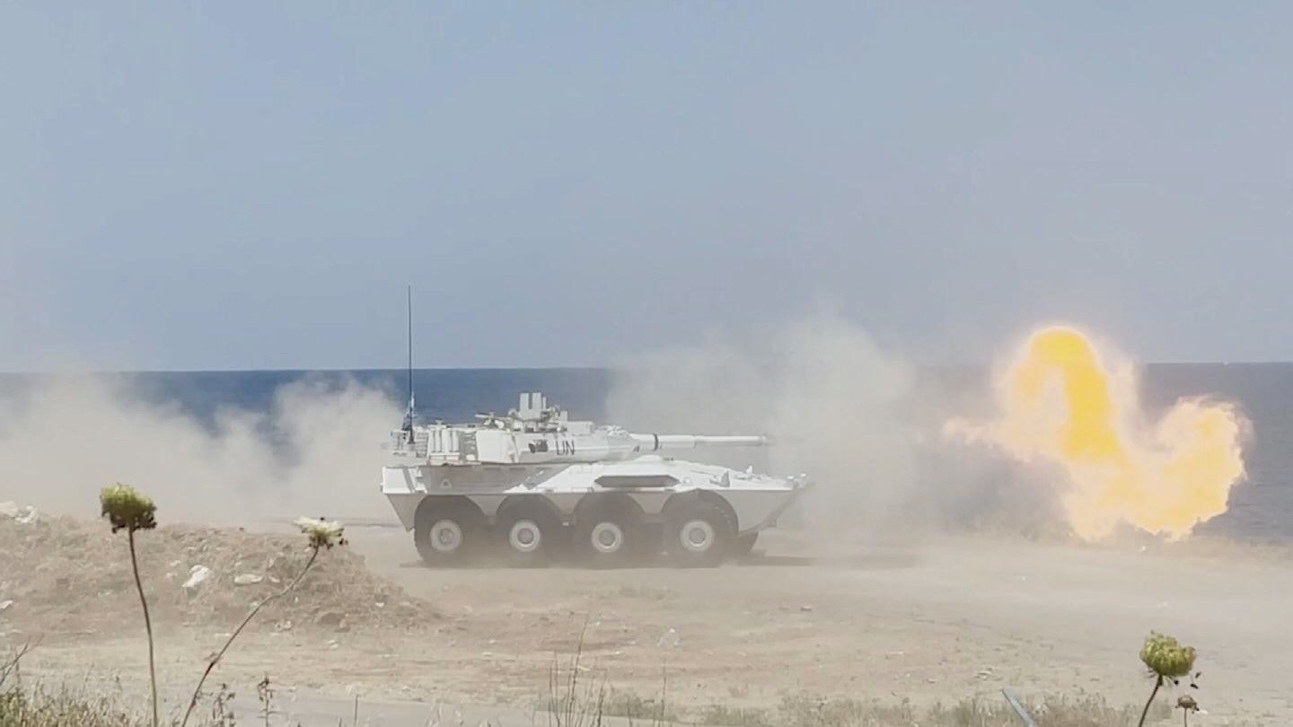 UNIFIL  LIVE FIRE EXERCISE