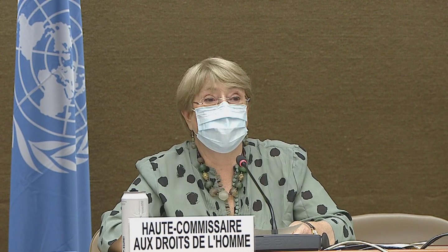 OHCHR  BACHELET HUMAN RIGHTS COUNCIL