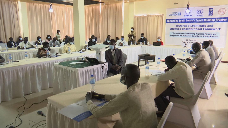 SOUTH SUDAN  CONSTITUTION PROCESS