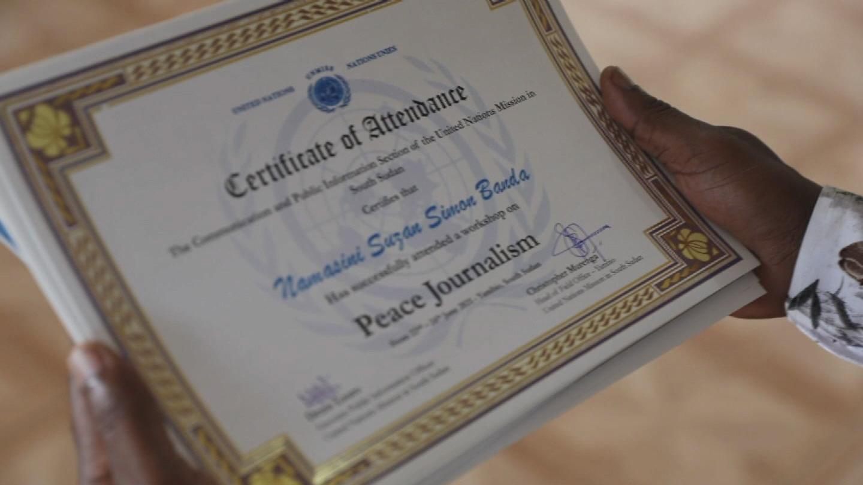 SOUTH SUDAN PEACE JOURNALISM