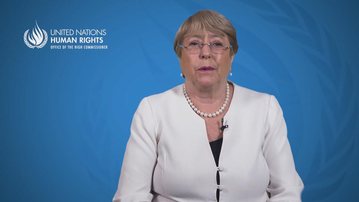 BACHELET  SYSTEMIC RACISM