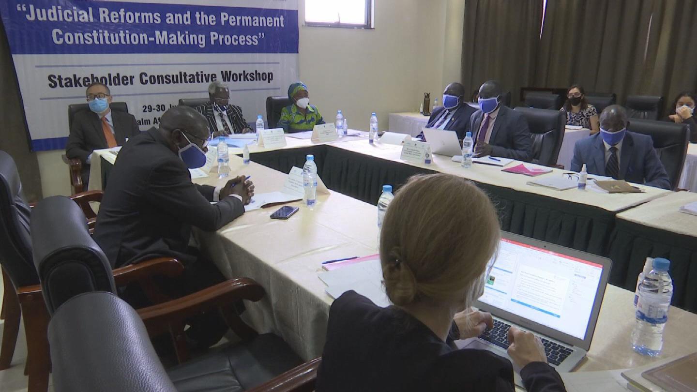 SOUTH SUDAN  CONSTITUTION MAKING JUDICIAL REFORM