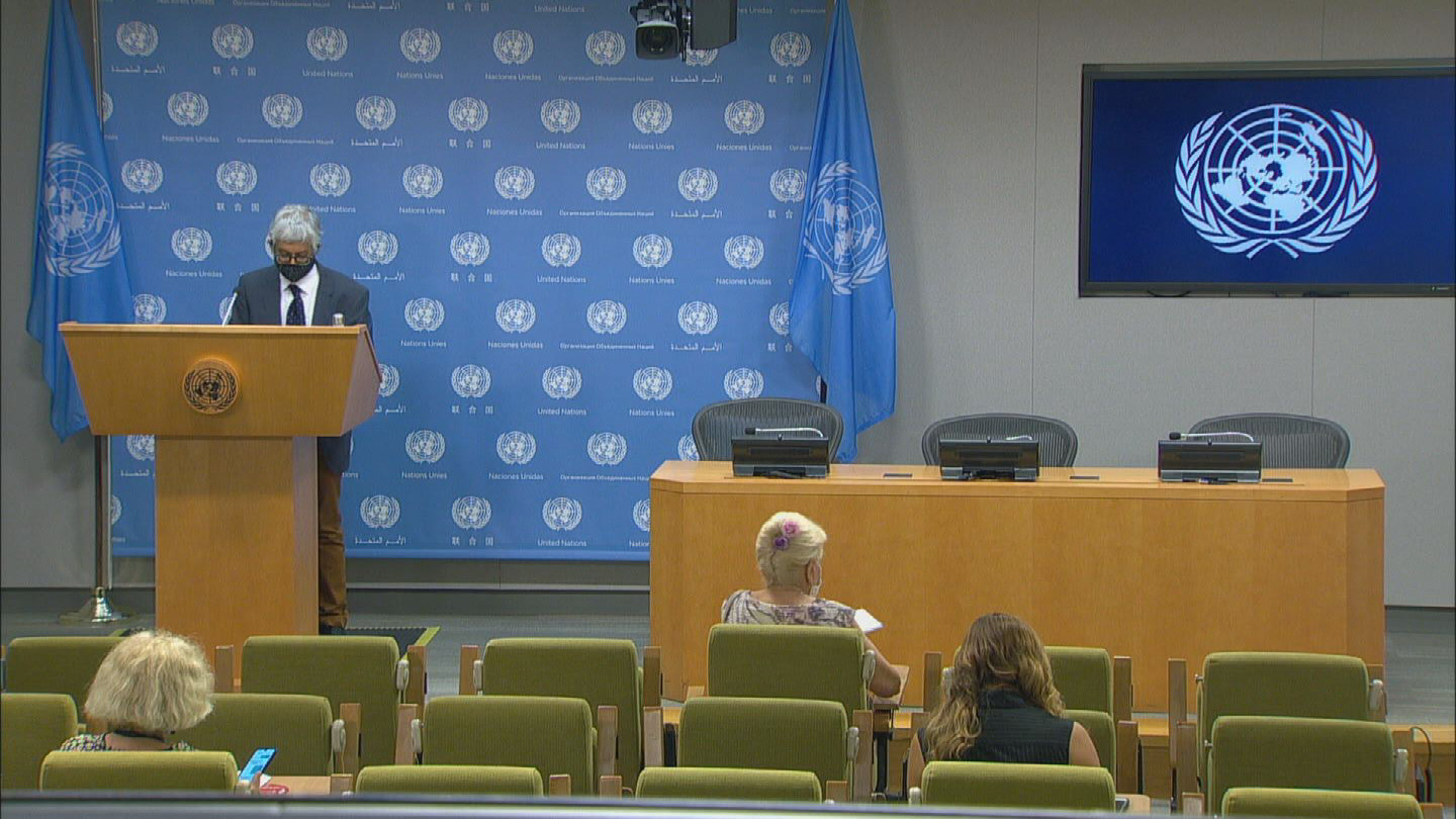 UN  SOUTH AFRICA AND CUBA PROTESTS REAX