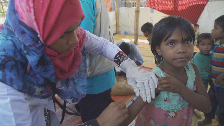 UNICEF  CHILDREN VACCINATION BACKSLIDING