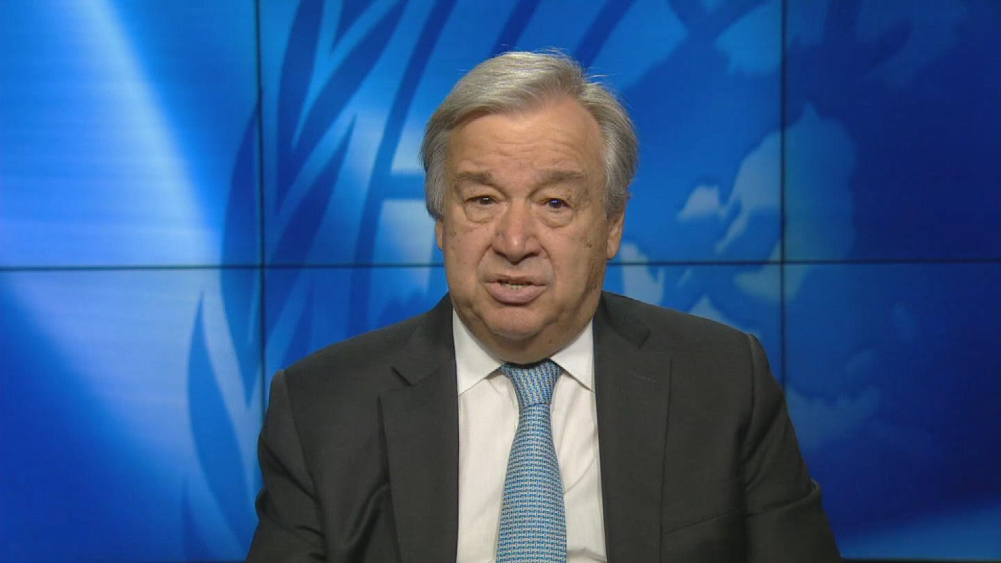 GUTERRES / OLYMPIC GAMES MESSAGE