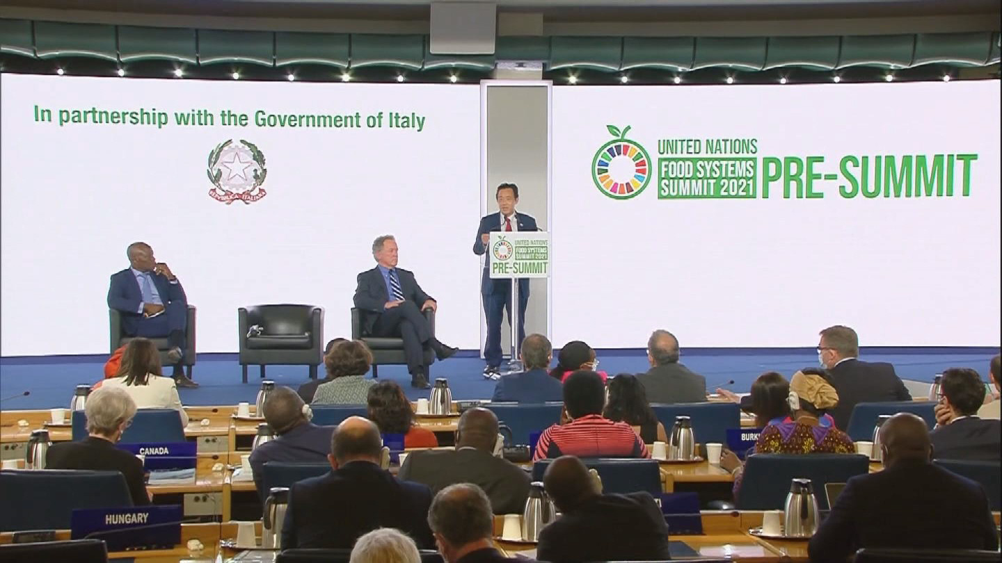FAO  FOOD SYSTEMS SUMMIT CLOSING