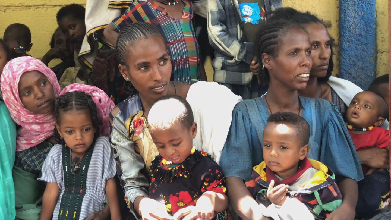 UNICEF  TIGRAY CHILDREN MALNUTRITION