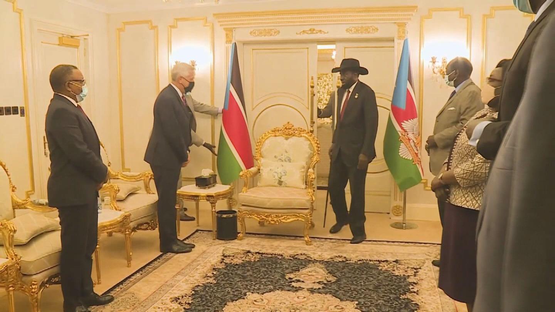 SOUTH SUDAN  GRANDI MEETS KIIR