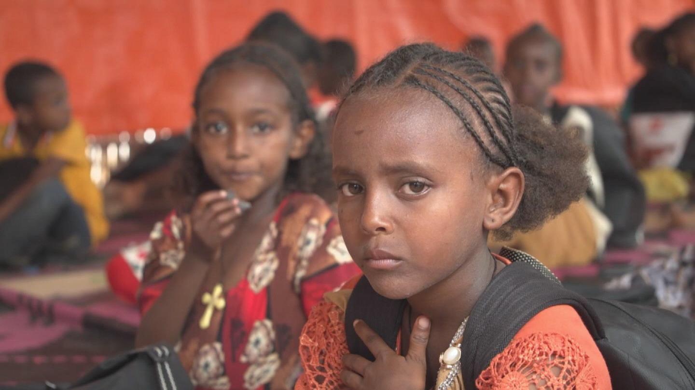 SUDAN  GRANDI ETHIOPIAN REFUGEES
