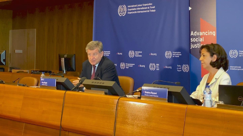 ILO  WORLD SOCIAL PROTECTION REPORT