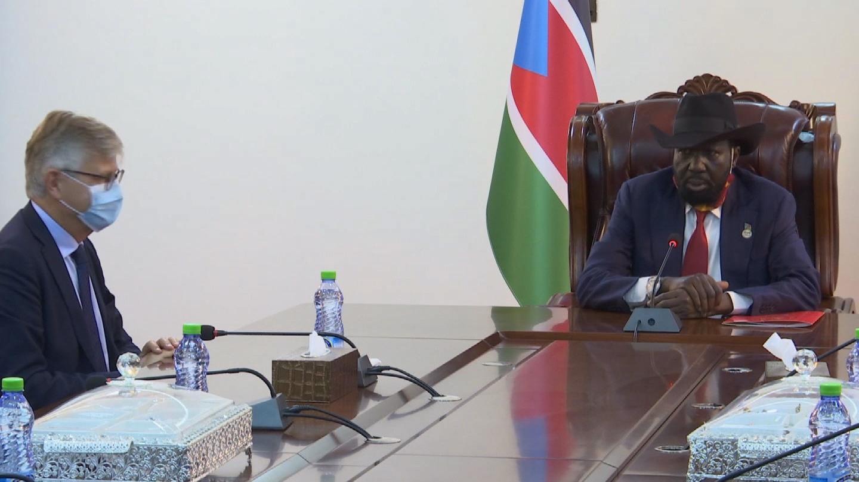 SOUTH SUDAN  LACROIX KIIR PEACE PROCESS
