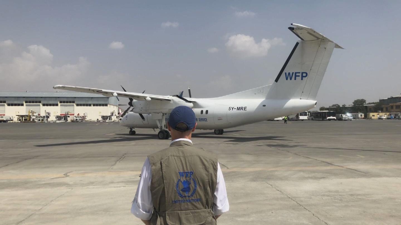 WFP  AFGHANISTAN HUMANITARIAN FLIGHTS